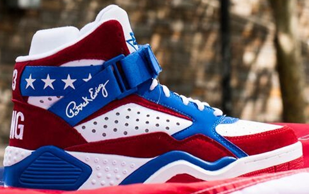 Ewing Athletics Ewing Focus White/Red-Blue