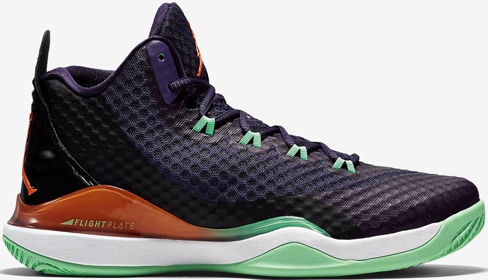 Jordan Super.Fly 3 PO Ink/Bright Mandarin-Poison Green-Black-White