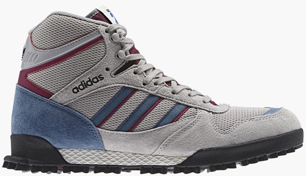 adidas Originals Mountain Marathon TR Mid Grey/Blue-Burgundy