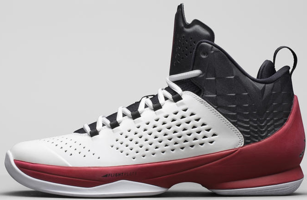 Jordan Melo M11 White/Black-Gym Red