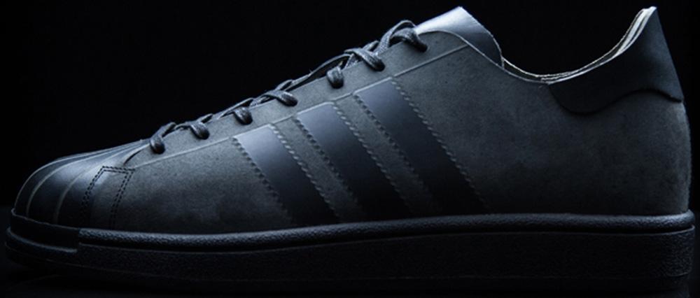 adidas Futurecraft Leather Superstar Black