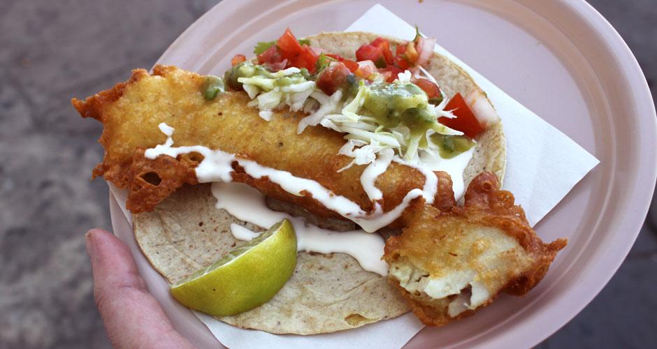 Gourmet fish taco recipes