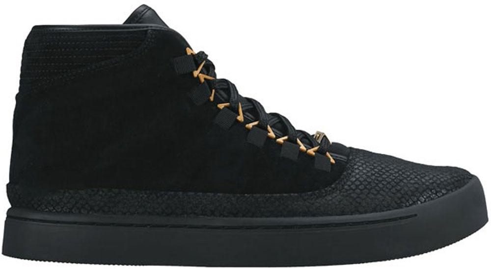 Jordan Westbrook 0 Black/Metallic Gold-White