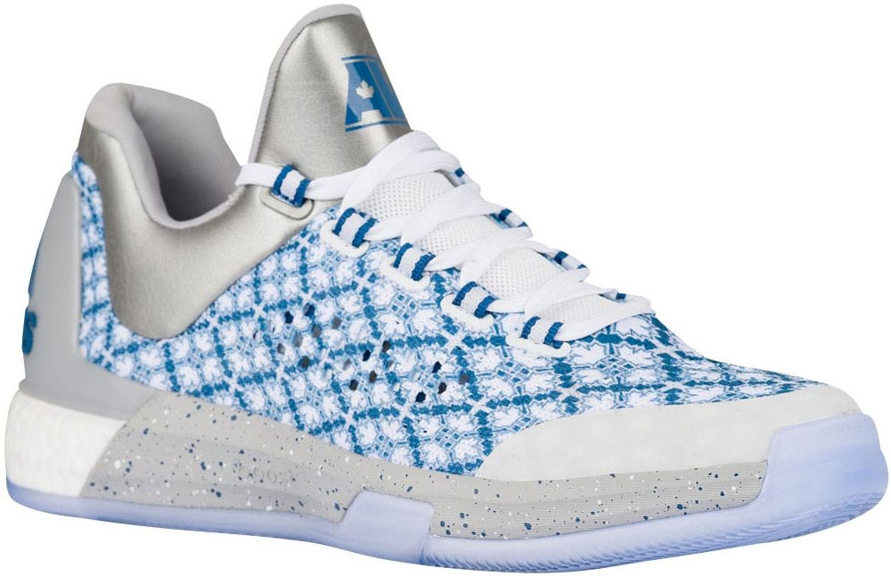 adidas Crazylight Boost 2015 White/Silver Metallic-Capitol Blue