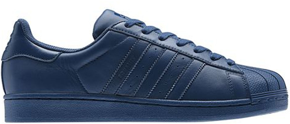 adidas Superstar Uniform Blue/Uniform Blue-Uniform Blue