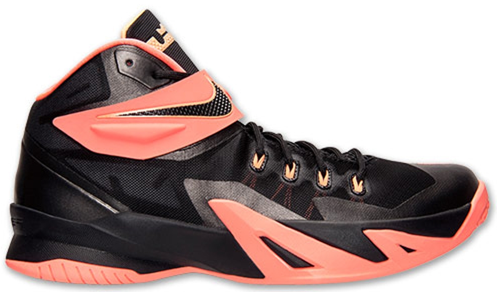 Nike Zoom Soldier VIII Black/Bright Mango-Peach Cream-Dark Grey