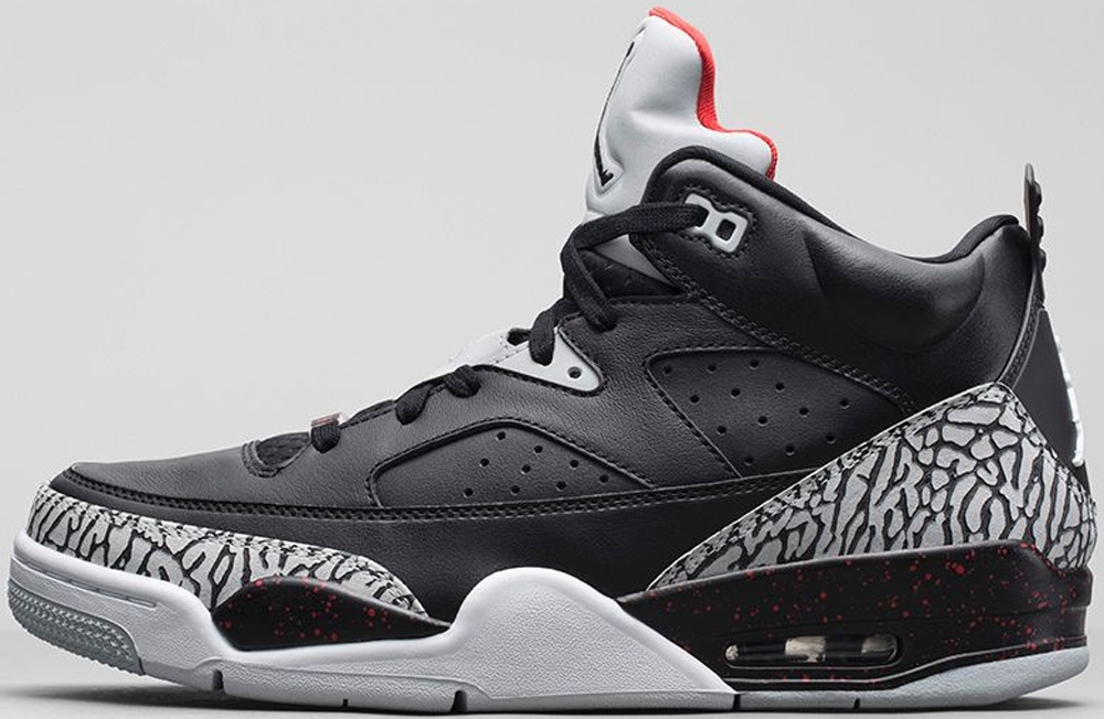 Jordan Son Of Mars Low Black/Black-University Red-Grey Mist