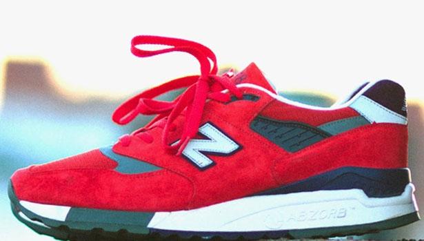 New Balance 998 Red/Purple-Grey