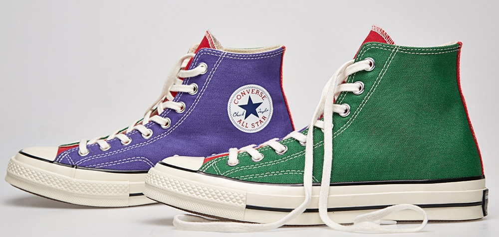 Converse Chuck Taylor All Star 1970s Hi Nightshade/Red-Green