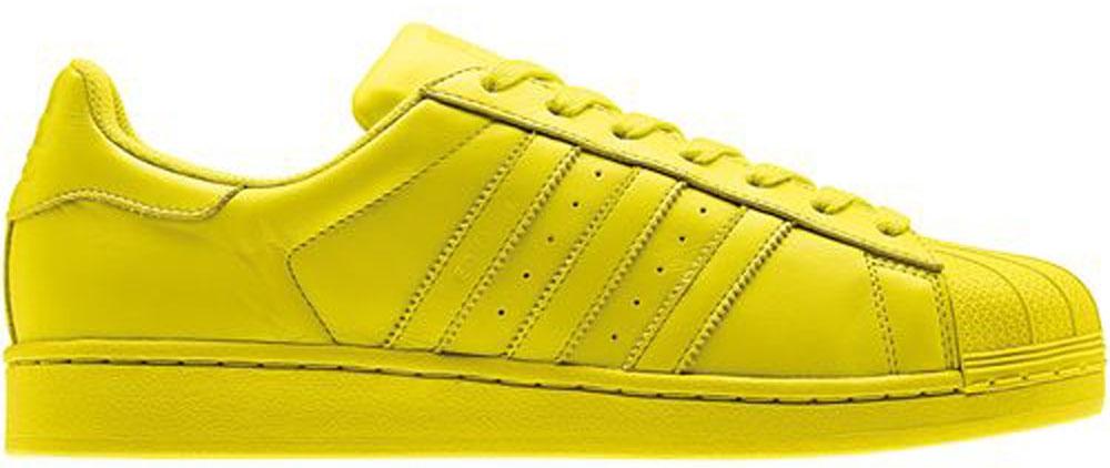 adidas Superstar Bright Yellow/Bright Yellow-Bright Yellow