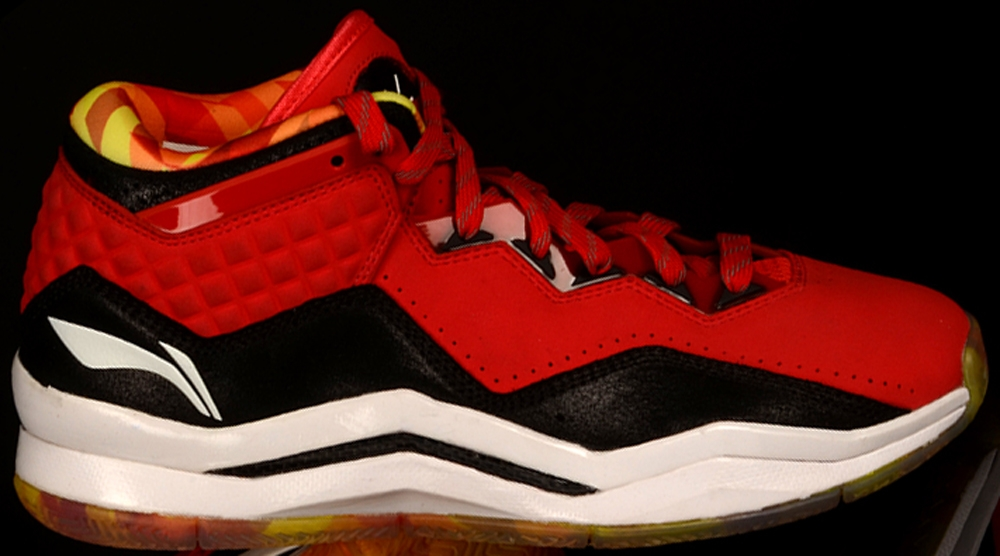 Li-Ning Way Of Wade 3 Red/Black-White