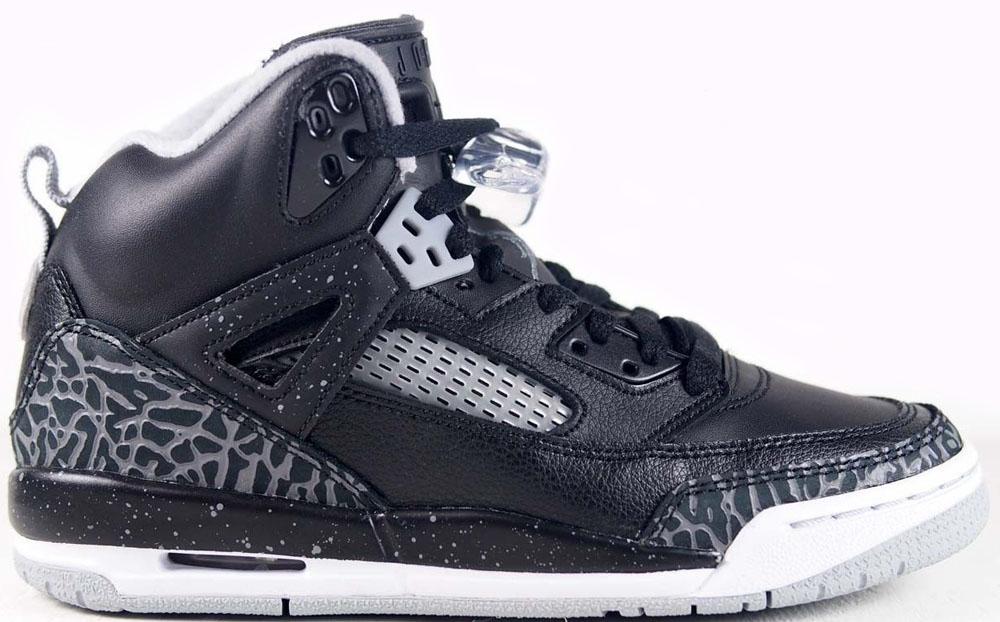 Jordan Spiz'ike GS Black/Cool Grey-Wolf Grey