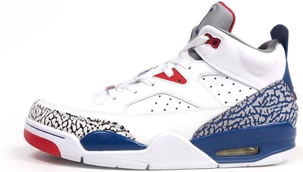 Jordan Son Of Mars Low White/True Blue-Gym Red-Cement Grey