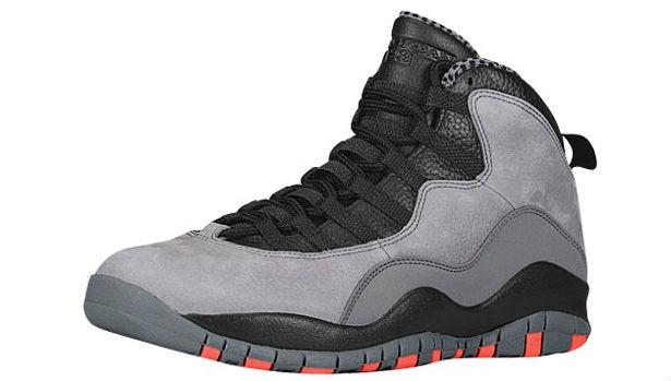 Air Jordan 10 Retro Cool Grey/Infrared-Black