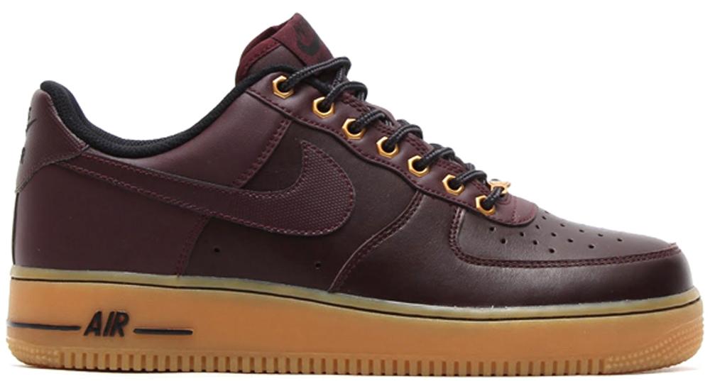 Nike Air Force 1 Low Deep Burgundy/Deep Burgundy-Gum Light Brown