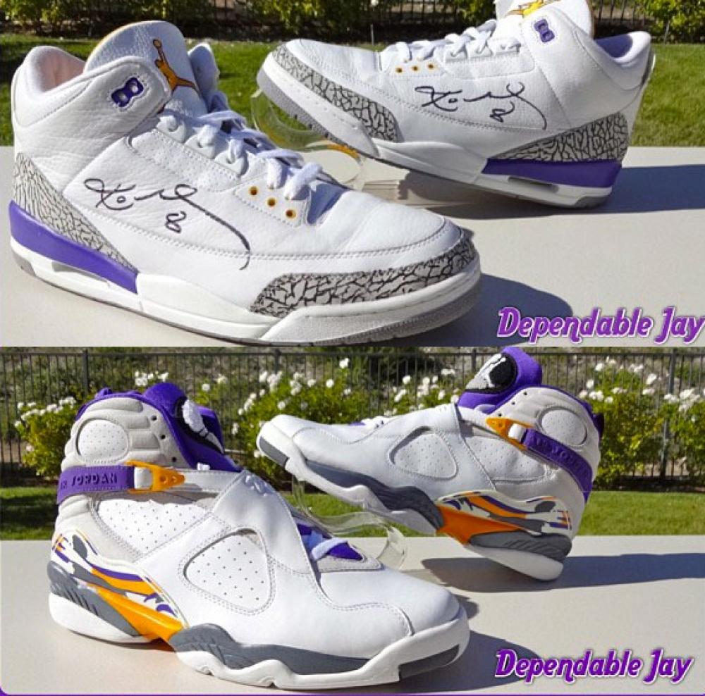 Air Jordan Retro Kobe PE Pack