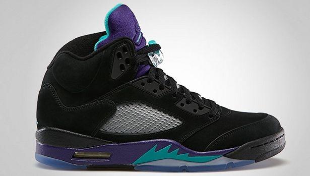 Air Jordan 5 Retro Black Grape