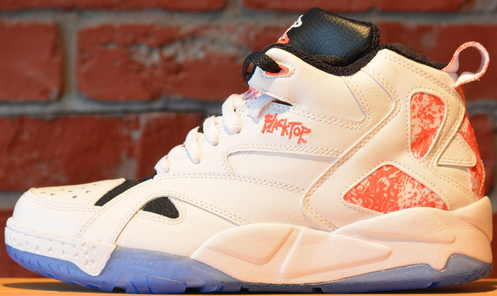 Reebok Blacktop Boulevard White/Punch Pink-Black