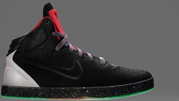 Nike Kobe 9 NSW Lifestyle YOTH QS Black/Black-Wolf Grey-Green Mist