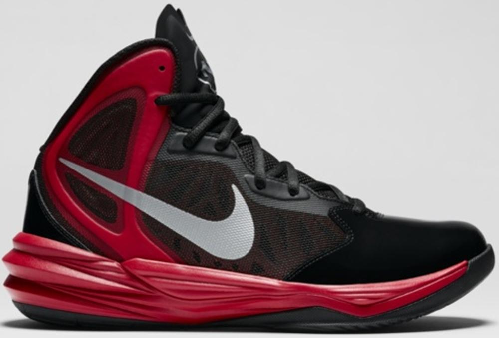Nike Prime Hype DF Winterized N7 Black/University Red-Hyper Punch-Metallic Silver