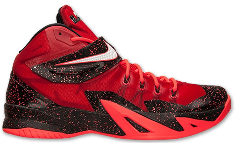 Nike Zoom Soldier VIII Premium University Red/Bright Crimson-White
