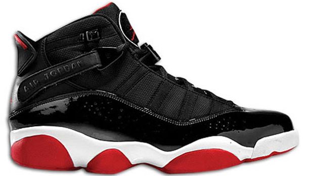 Jordan 6 Rings Black/White-Gym Red