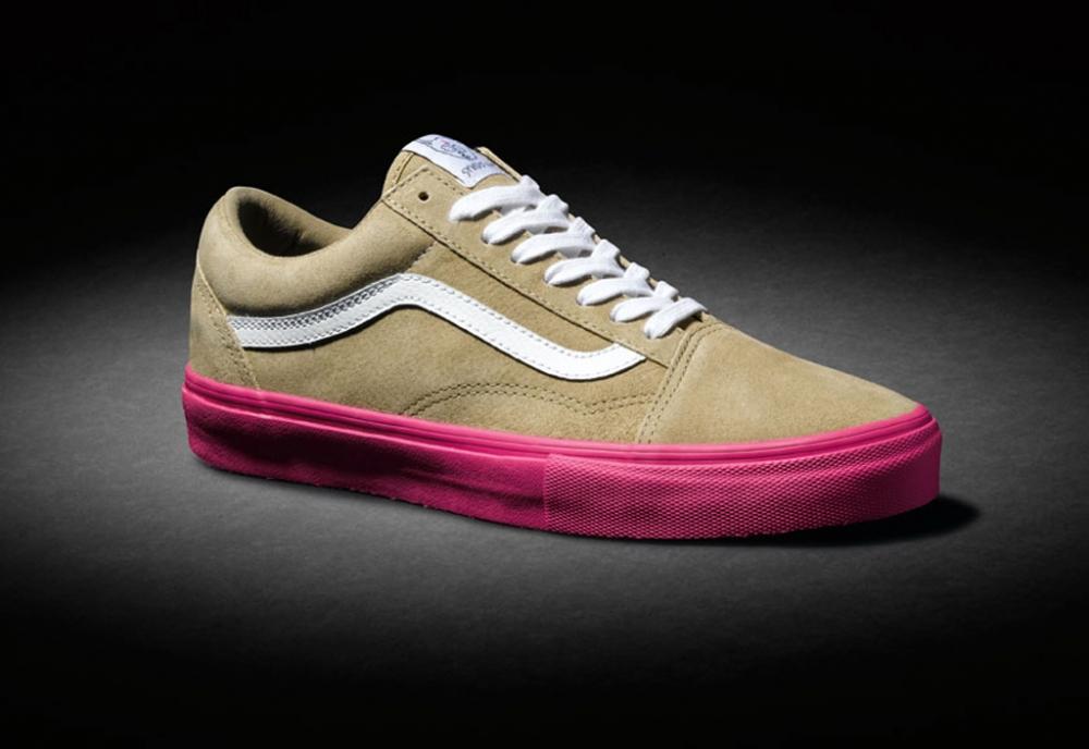 Vans Syndicate Old Skool Pro S Wheat/Pink