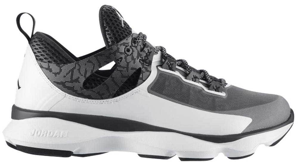 Jordan Flight Runner White/Black-Anthracite-Metallic Silver