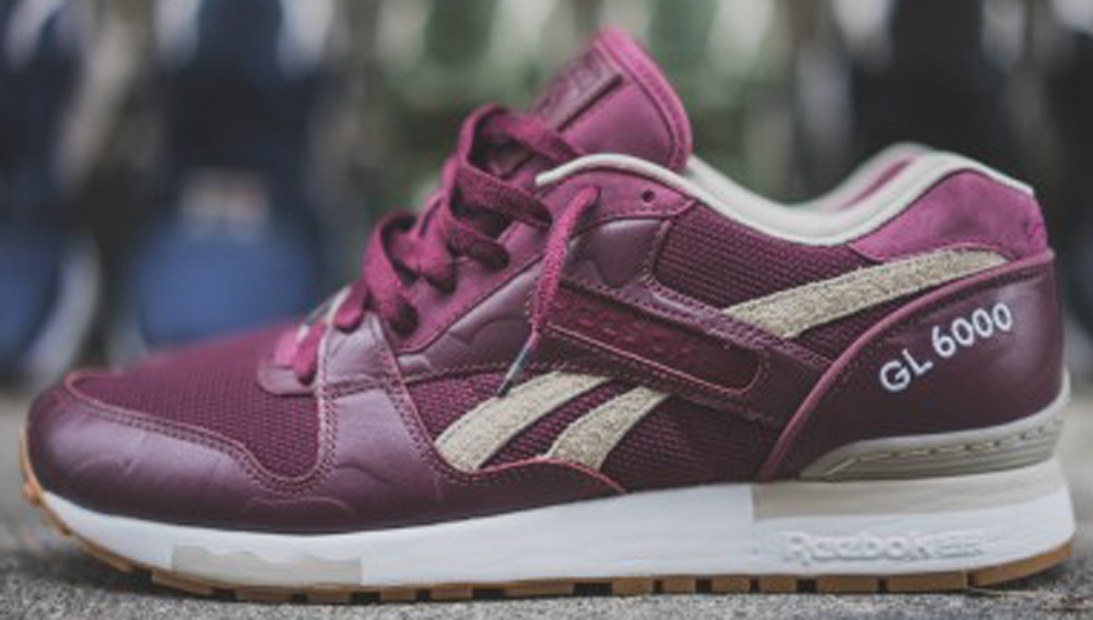 Reebok GL6000 Deep Burgundy/Tan
