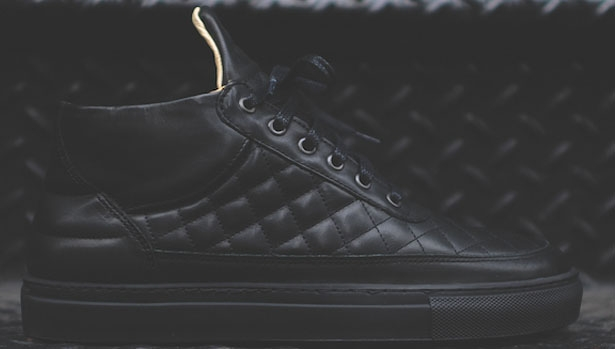 Filling Pieces Quilted RF-Mid Black/Black