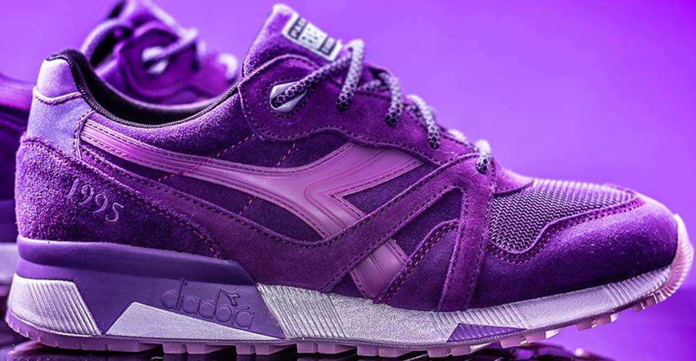 Diadora N.9000 Purple/Purple
