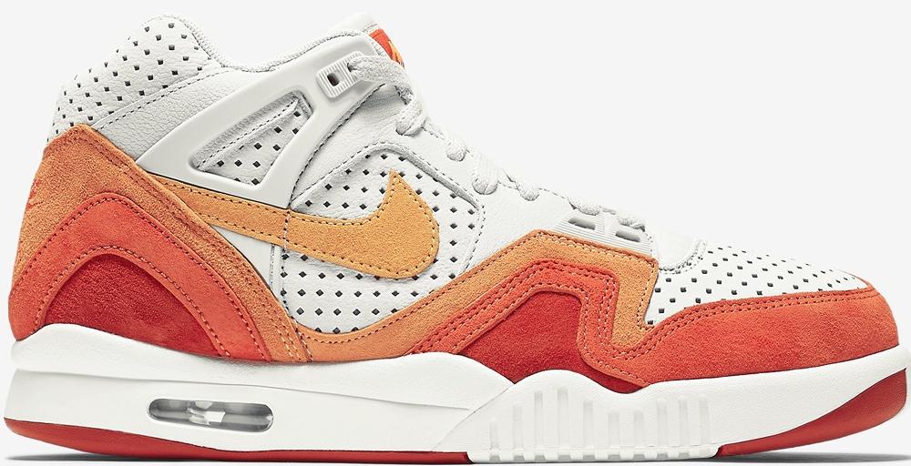 Nike Air Tech Challenge II QS Light Bone/Laser Orange-Cinnabar-Summit White-Team Orange-Bright Citrus