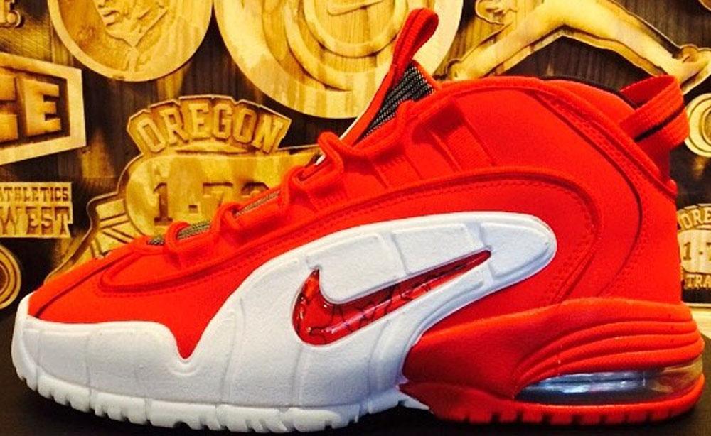 Nike Air Max Penny I University Red/White-Black