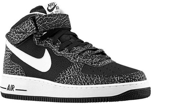 Nike Air Force 1 Mid Black/White