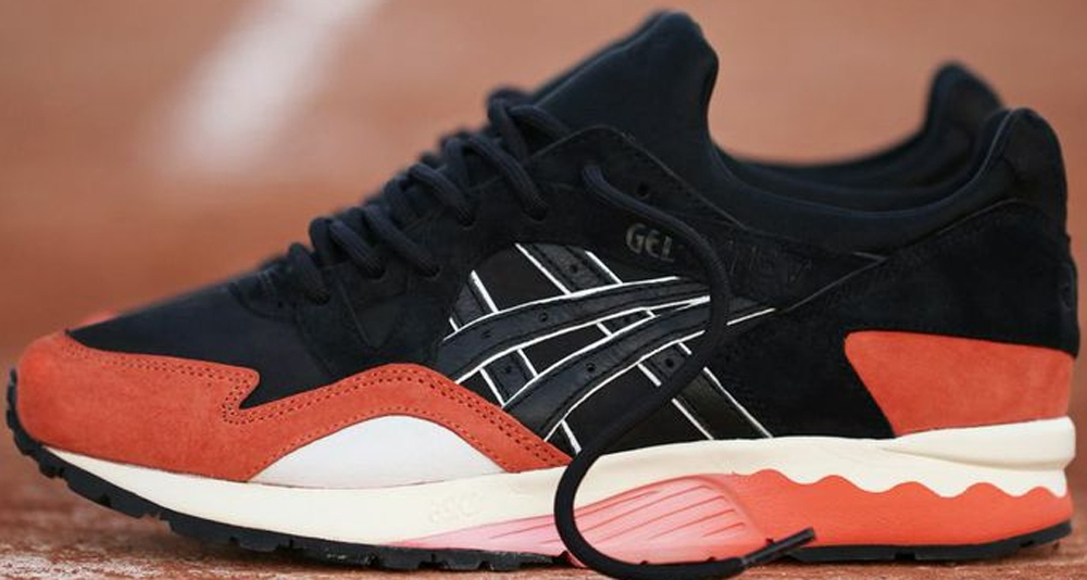 Asics Gel-Lyte V Black/Deep Orange