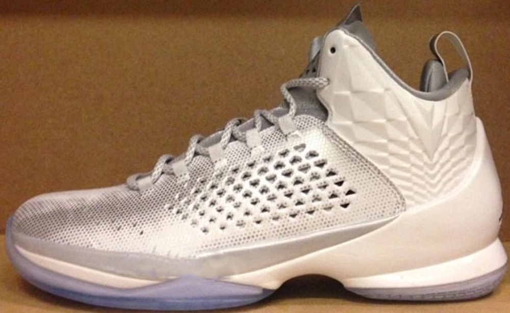 Jordan Melo M11 AS White/Metallic Silver-Pure Platinum-Retro