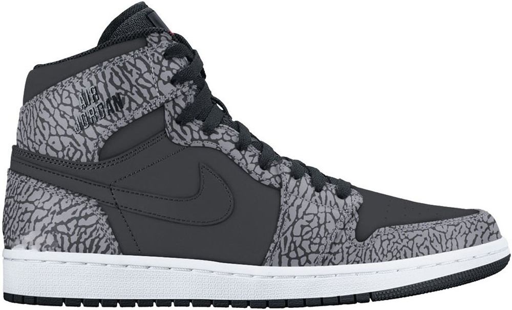 Air Jordan 1 Retro High Black/Cement Grey-White