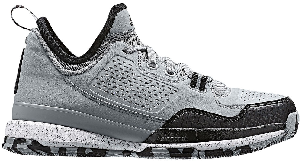 adidas D Lillard 1 Light Onix/Black-White