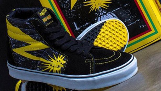 Vans Sk8-Hi Black/Yellow