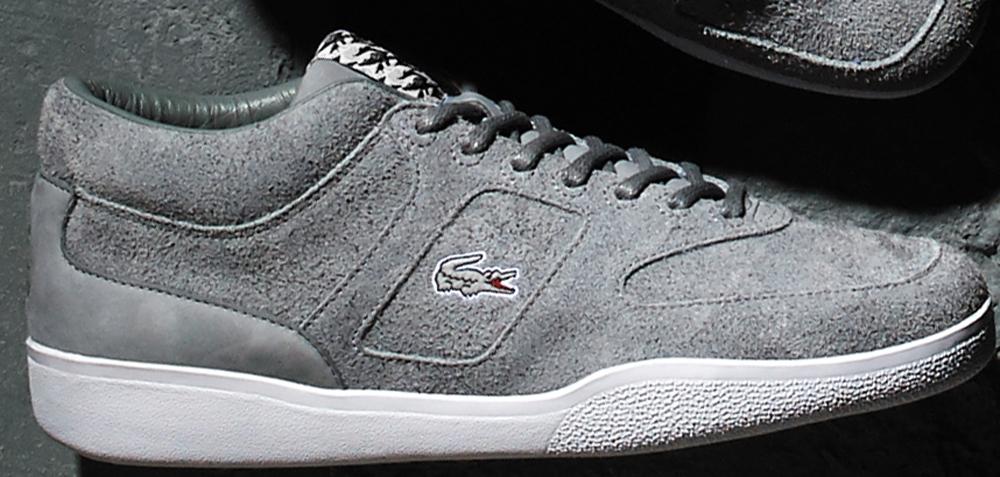 Footpatrol x Lacoste Halfcourt Grey/White