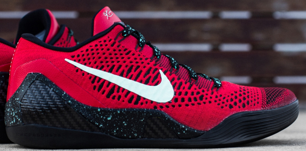 Nike Kobe IX Premium University Red/Black