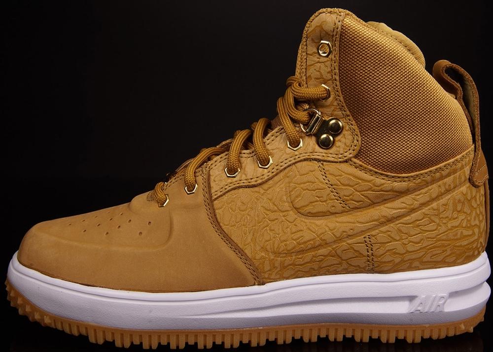 Nike Lunar Force 1 Sneakerboot Wheat/Wheat-White-Flat Gold