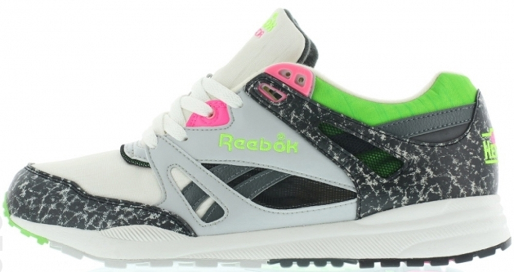 Reebok Ventilator OG Chalk/Grey-Green-Pink