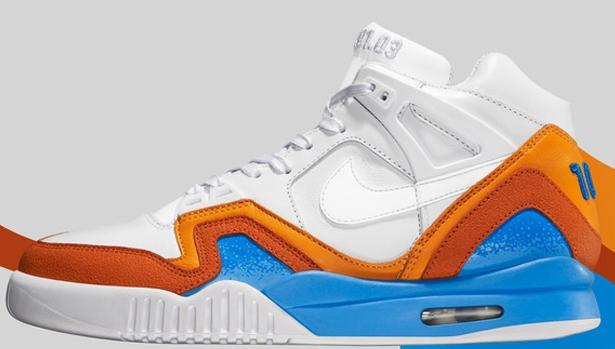 Nike Air Tech Challenge II SP White/White-Vivid Blue-Blur Orange