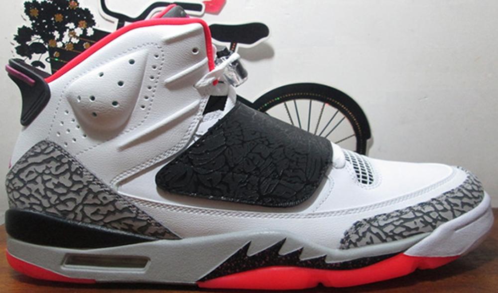 Jordan Son Of Mars White/Fuchsia Flash-Black-Wolf Grey-Hot Lava