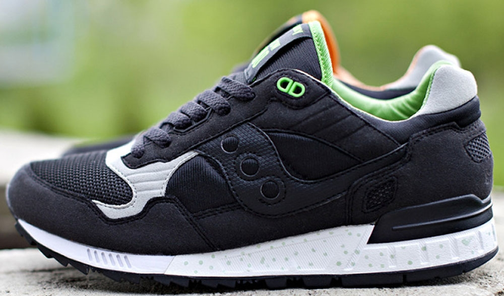 Saucony Shadow 5000 Black/Green
