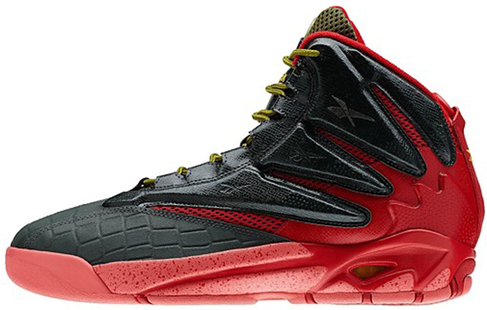 Reebok The Blast Dark Sage/Red