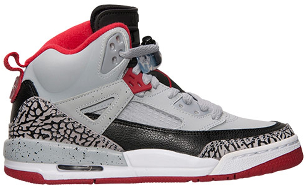 Jordan Spiz'ike Wolf Grey/Black-White-Gym Red