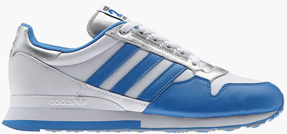 adidas Originals ZX 500 White/Blue-Silver