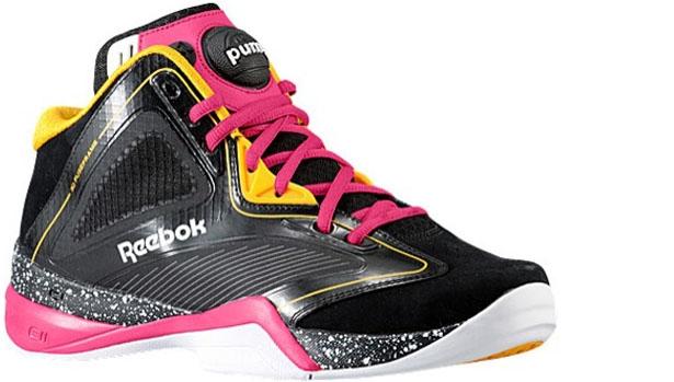 Reebok Pump Revenge Black/Gold-Pink-White